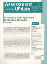 Assessment Update Assessment Update Volume 22, Number 4, July-august 2010