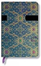 French Ornate Mini Bleu Lined