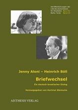 Aloni, Jenny Briefwechsel Jenny Aloni - Heinrich Böll