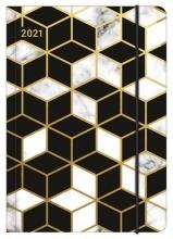 , Agenda 2021 midi flexi glam line 12x17 marbled patt