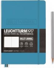 Lt357675 Leuchtturm notitieboek medium bullet journal nordic blue