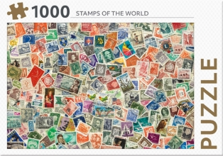 , Stamps of the world - puzzel 1000st