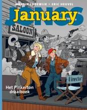 Eric  Heuvel, Martin  Lodewijk January Jones deel 4 - Het Pinkerton-draaiboek