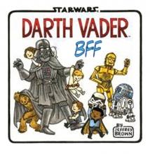 Jeffrey  Brown Star wars Vaders beste vrienden