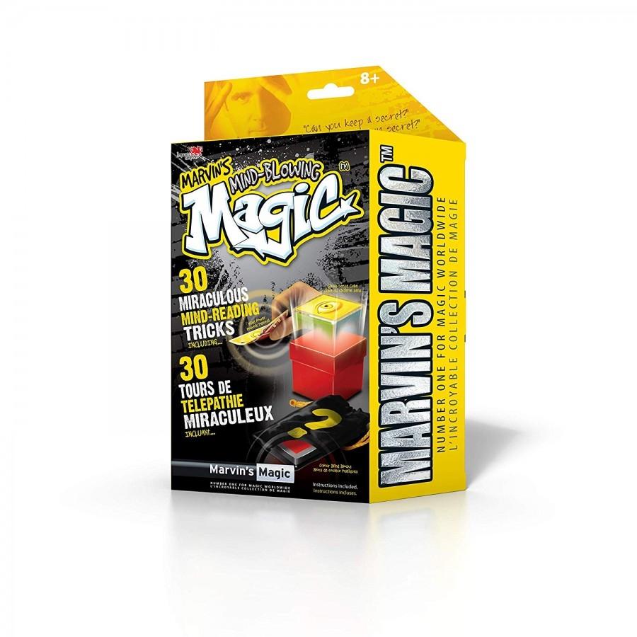Mar-mmb5712,Marvins mind blowing magic - 30 miraculous mind-reading tricks