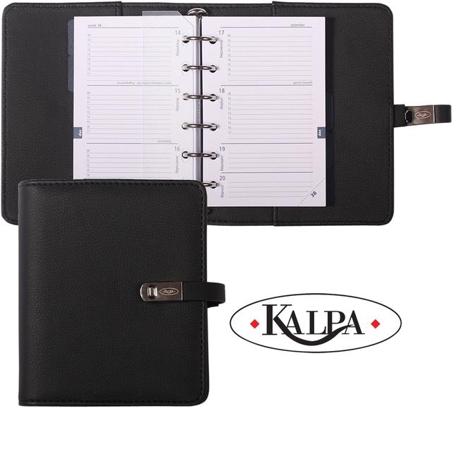 ,Agenda 21-22 organizer Kalpa Pocket - Nerf Zwart