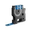 , Labeltape Dymo Rhino 1805243 12mmx5.5m vinyl wit op blauw