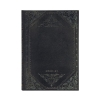 <b>De4207-5</b>,Paperblanks agenda 2020-2021 18 mnd midi midnight rebel bold week op 2 pag horiz