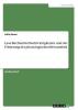 Exner, Julia, Lese-Rechtschreibschwierigkeiten und die F�rderung der phonologischen Bewusstheit