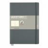 Lt355312 , Leuchtturm notitieboek composition softcover 178x254 mm blanco anthraciet