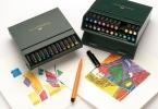 , tekenstift Faber Castell Pitt Artist Pen Brush 24-delig     Studiobox