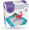 <b>Kkl-0100</b>,Letter spelmat - bewegen en leren - 4+