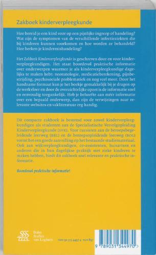 M.A. de Jong,Zakboek kinderverpleegkunde