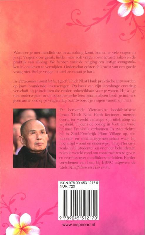 Thich Nhat Hanh,Antwoorden vanuit het hart