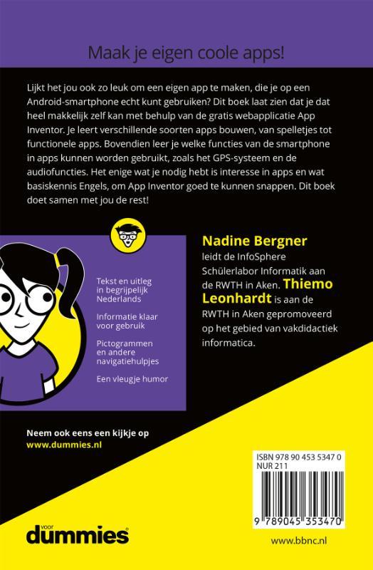 Nadine Bergner, Thiemo Leonhardt,Apps maken voor kids voor Dummies