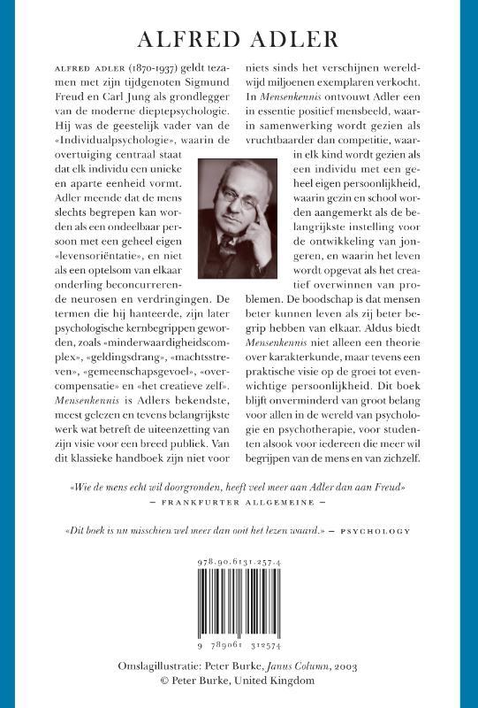 Alfred Adler,Mensenkennis