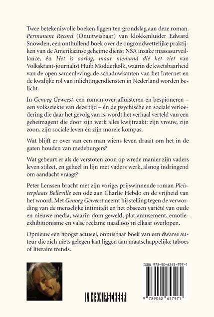 Peter Lenssen,Genoeg geweest