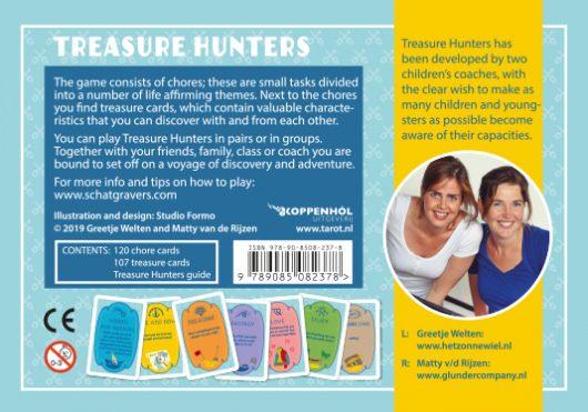 Greetje  Welten, Matty  V/d Rijzen,Treasure Hunters