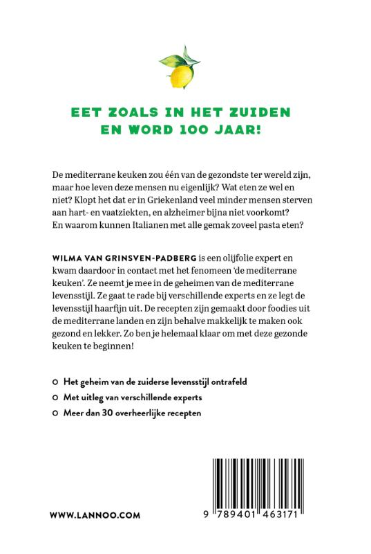 Wilma Van Grinsven-Padberg,Het mediterrane dieet