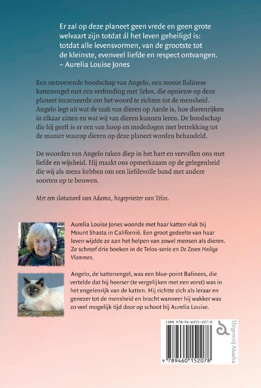 Aurelia Louise Jones,Angelo's boodschap