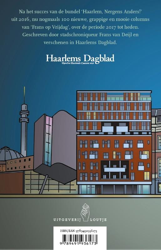 Frans van Deijl,Haarlem goed bezig!