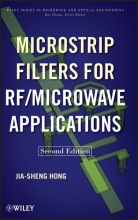 Hong, Jia-Sheng Microstrip Filters for RF Microwave Applications