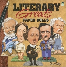 Tim Foley Literary Greats Paper Dolls
