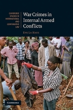 La Haye, Eve War Crimes in Internal Armed Conflicts