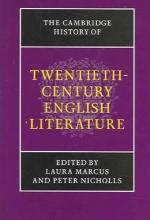 The Cambridge History of Twentieth-Century English Literature