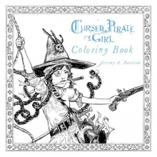 Bastian, Jeremy Cursed Pirate Girl Coloring Book