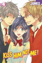 Junko Kiss Him, Not Me, Volume 4