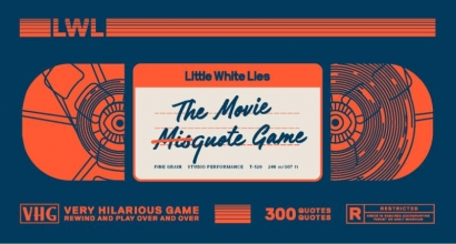 Little White Lies , The Movie Misquote Game
