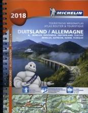 Atlas Michelin Duitsland, Benelux, Oostenrijk, Zwitserland en Tsechie 2018