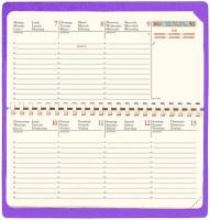 Planital Terminkalender Club 2018 iris Taschen-Kalender
