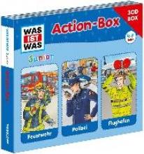 Wilhelmi, Friederike WAS IST WAS Junior Action-Box FeuerwehrPolizeiFlughafen
