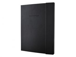 , notitieboek Sigel Conceptum Pure hardcover met              magneetsluiting A4+ zwart
