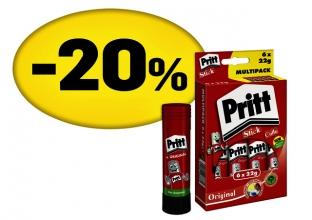 , Lijmstift Pritt PK212 22gr promopack