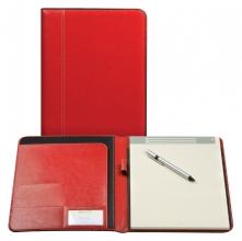 , Schrijfmap Brepols Palermo A4 + blok rood
