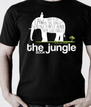 The Jungle Book White Large T-shirt