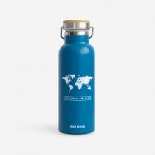 , Woody drinkbus Wereld Blauw - Wit
