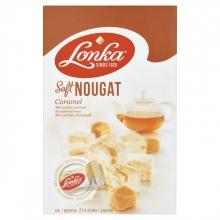 , Nougat Lonka caramel per stuk verpakt 12gr