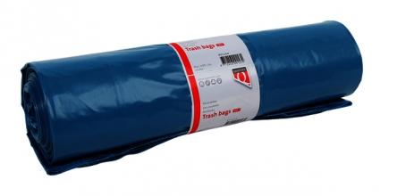 , Afvalzak Quantore LDPE T50 240L blauw extra stevig 10 stuks