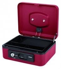 , Geldkist Pavo Deluxe 200x160x90mm rood