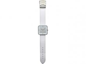, Horloge NeXtime Square Wrist wit/zilver