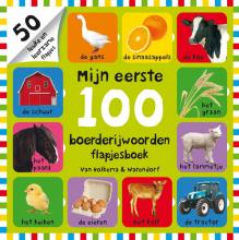 Roger Priddy , Mijn eerste 100 boerderijwoorden flapjesboek