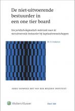 , De niet-uitvoerende bestuurder in een one tier board