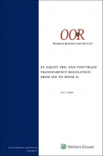 , EU Equity pre- and post-trade transparency regulation: from ISD to MiFID II