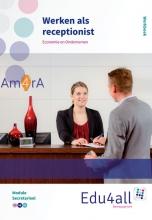 Deborah Weimer Angela van Oeffelen, Werken als receptionist