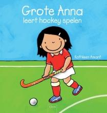 Kathleen  Amant Grote Anna leert hockey spelen