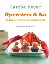 Sacha  Meyer Opvreters & Ko, koken, lezen en knutselen en lekker opeten